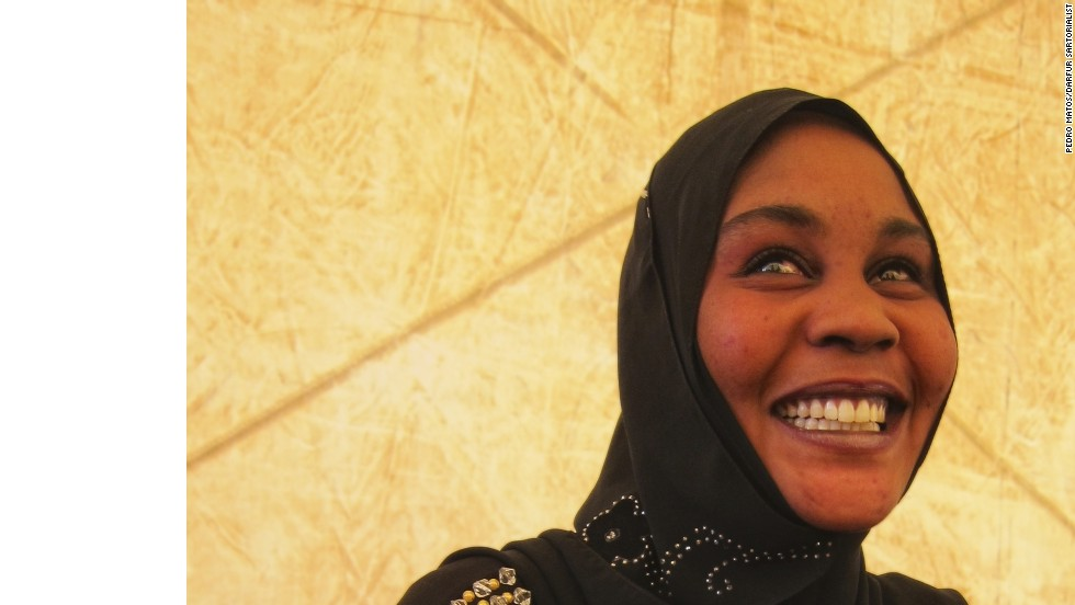 """Most people in the West are extremely surprised and most people in Sudan are quite happy that someone is covering Sudan in such way, with many smiles, and proud, fashionable people,"" says Matos."