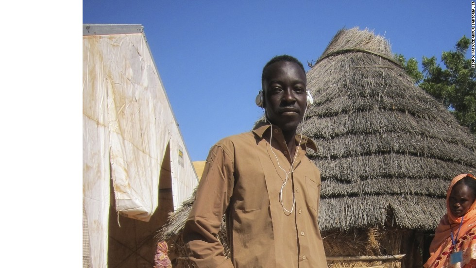 "His projects also includes photos of men in Darfur. ""Men dress much more bluntly,"" says Matos. ""It's a world phenomenon,"" he adds. ""[The pictures are] often more about their expression and their movement, than the clothing itself."""