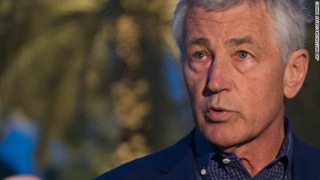 Hagel: Syria used chemical weapons