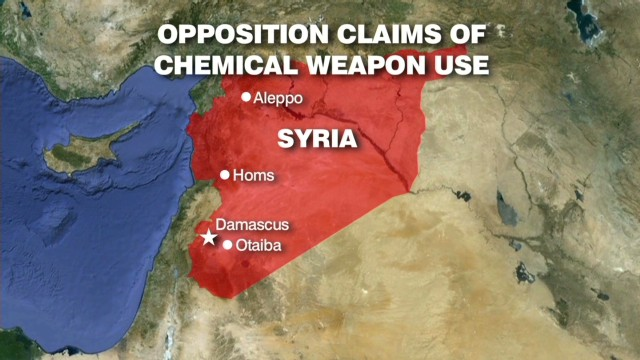 Amanpour investigates chemical weapons