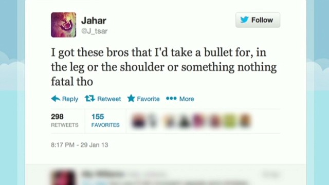 Boston suspect tweets: 'I will die young'