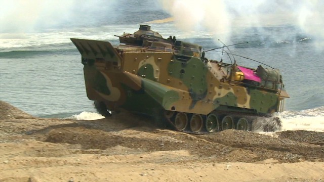 Joint drills continue in South Korea