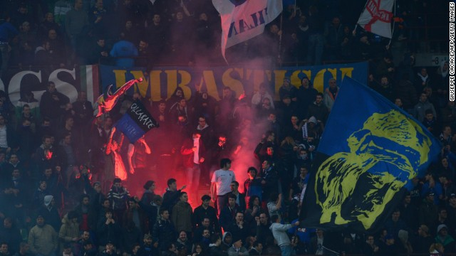 Inter Milan has been fined $58,600 by Uefa for the racist behaviour of its fans.