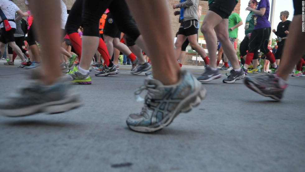 More than 25,000 runners participated in the event, which included a marathon and shorter races.
