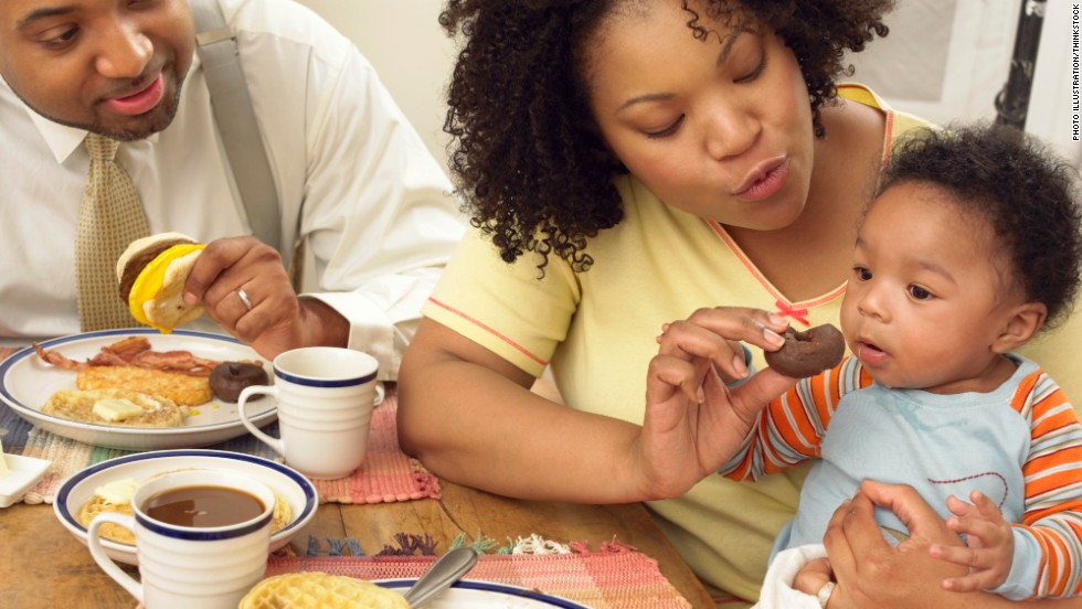 Sometimes, busy moms prioritize getting their children dressed and fed in the morning instead of themselves. Click through this gallery of morning rituals moms forgo for a manageable start to the day.