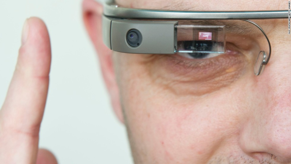 "The future will be bright in all those augmented realities. <a href=""http://www.google.com/glass/start/"" target=""_blank"">Google Glass</a> is the wearable computer that responds to voice commands and displays information on a visual display."
