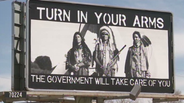 Is this gun control billboard racist?