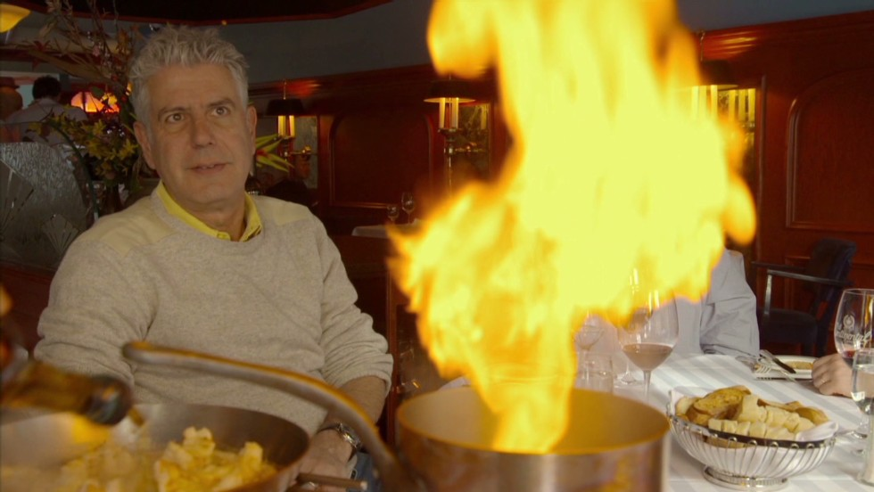 Bourdain rediscovers old-world dining - CNN Video