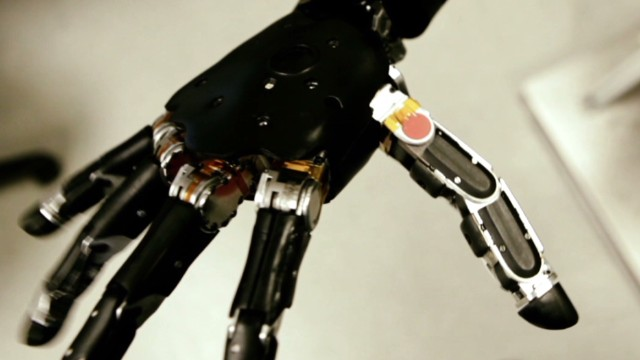 Robotic arm grasps the future