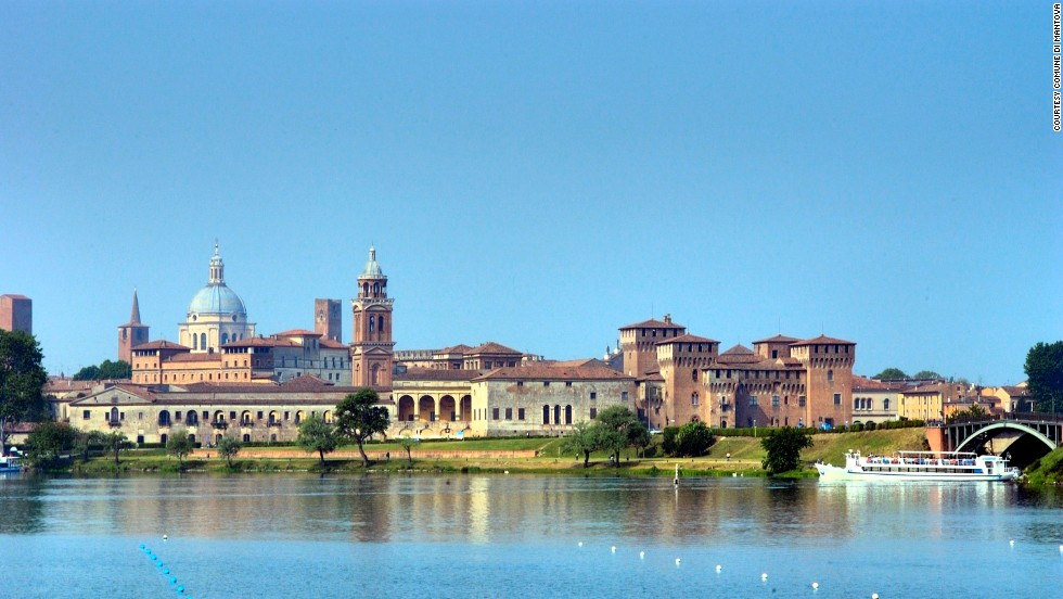 Mantova (also called Mantua) was the hometown of Rome's most celebrated poet, Virgil. It's been inscribed by UNESCO as a World Heritage Site. The foggy Mincio river and lakes create an ideal habitat for many bird species.