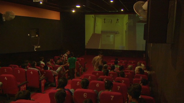 Small theaters bring Bollywood to masses