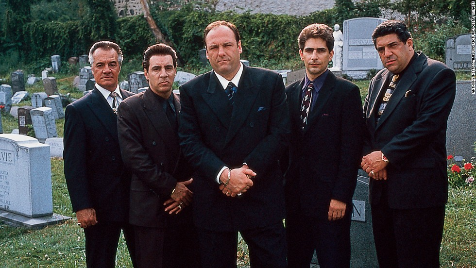 "<strong>""The Sopranos"" (1999)</strong>: A series about a psychologically troubled mob boss? Not only did it work, it helped make HBO the go-to network for high-quality television."