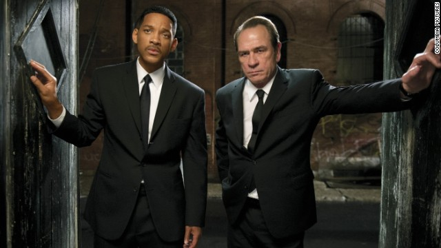 "Will Smith and Tommy Lee Jones appeared in the third installment of ""Men In Black."""