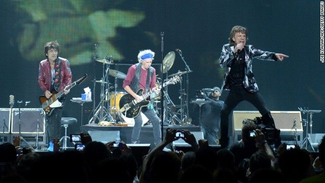 The Rolling Stones turn 50