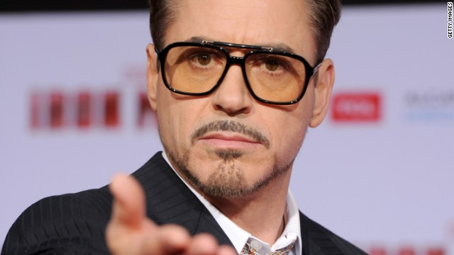 Downey strikes gold for 'Iron Man 3'