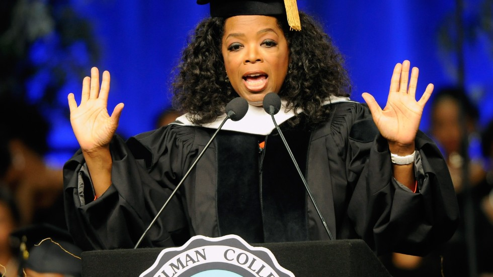 Oprah Winfrey is set to deliver the commencement at Harvard University on May 30. She spoke at the commencement for Spelman College in Georgia in 2012.