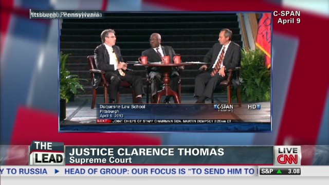 Justice Clarence Thomas speaks out