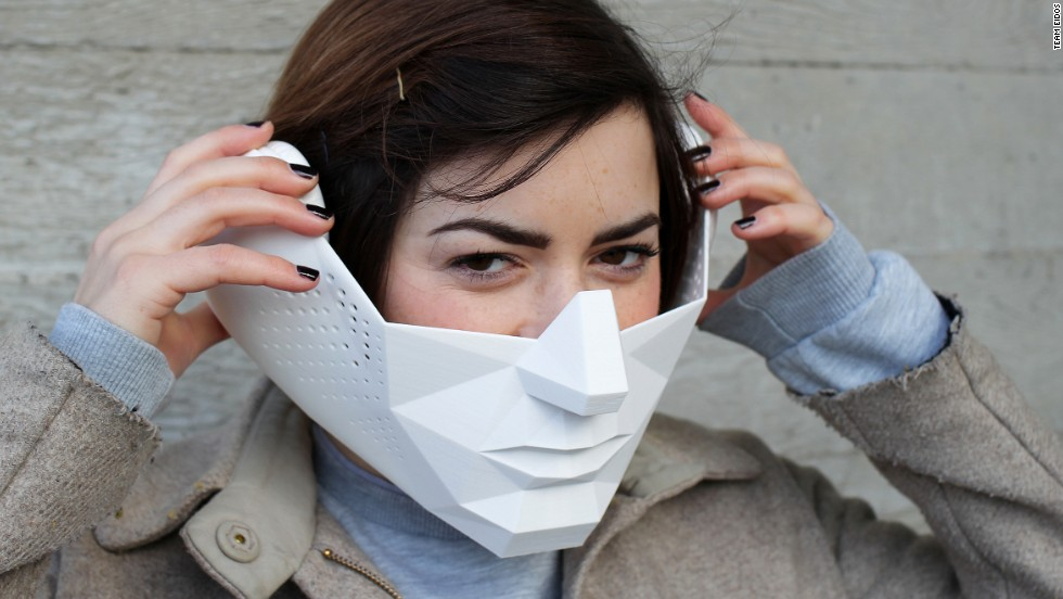 This mask gives you superhuman abilities