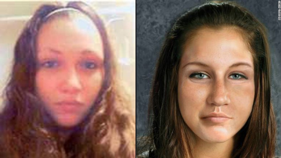 The discovery of the three young women missing for a decade in Cleveland immediately raised hopes for Ashley Summers, who went missing in July 2007 at age 14 within blocks of the other three.  Here, she is shown next to an age-progressed rendering of her on the right.