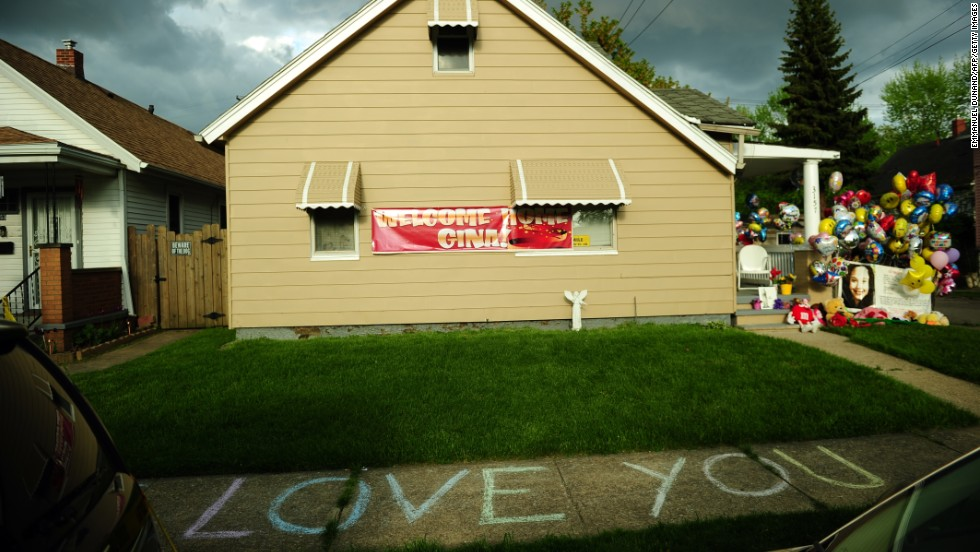 The family house of Gina DeJesus has been decorated by well-wishers on Tuesday, May 7.