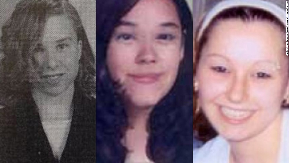 Amanda Berry emerged from captivity in May, leading to the freedom of two other missing Cleveland women: Michelle Knight, left, was abducted at age 21 in August 2002, and Gina DeJesus, center, was 14 when she disappeared in 2004. Berry, right, had gone missing at age 16 in 2003.