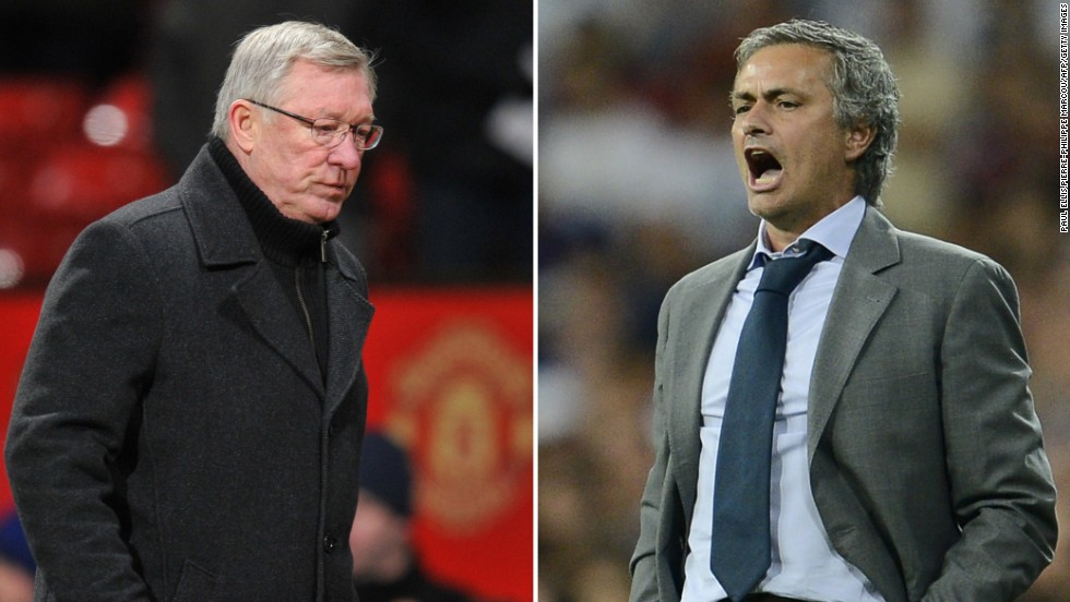 Jose Mourinho, right, had been widely expected to return to Chelsea if he leaves Real Madrid at the end of this season -- but Alex Ferguson's decision to retire has prompted a flood of bets from punters that the Portuguese coach will instead go to Manchester United.