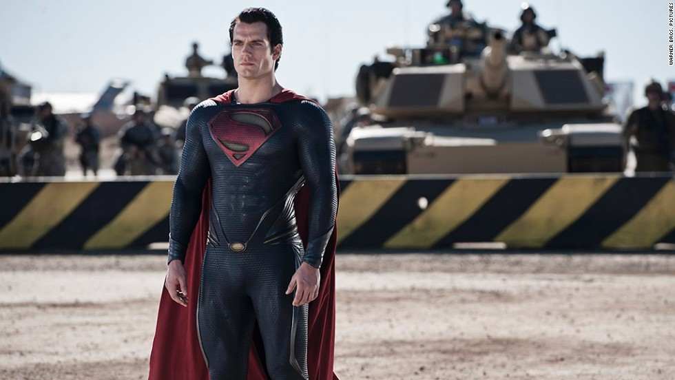 "Henry Cavill stars as Clark Kent (a.k.a. Superman) in the latest Superman adaptation, ""Man of Steel."" ""This Is the End"" and ""The Bling Ring"" will also hit theaters."