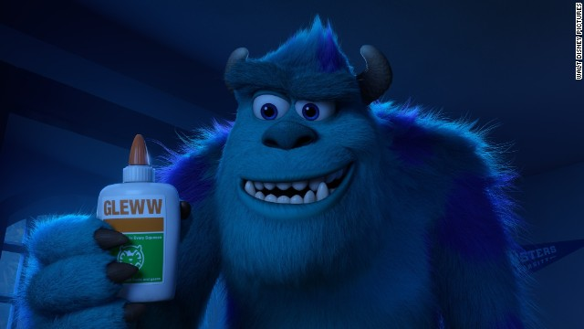 "Sulley from Walt Disney Pictures' ""Monsters University"" helped to bring in the big bucks over the weekend."