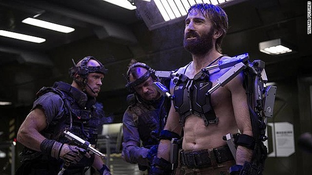 Sharlto Copley stars as Kruger in TriStar Pictures' Elysium (2013)