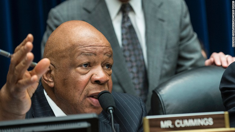 Rep. Elijah Cummings reacts to Comey's latest letter
