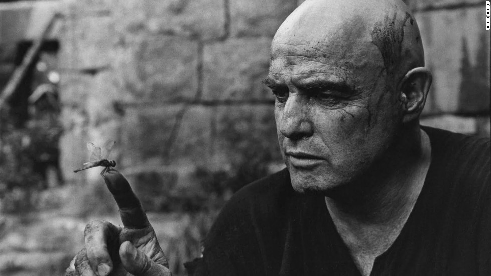 "Francis Ford Coppola's 1979 ""Apocalypse Now"" is a shining example of film making, period. But Colonel Kurtz's (Marlon Brando) dark heart was particularly riveting."
