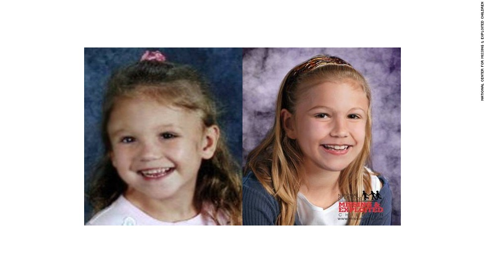 Haleigh Cummings, 5, was reported missing from her family's home in Satsuma, Florida, in February 2009. The National Center for Missing & Exploited Children released the age-progressed photo to show what she might look like at age 8.