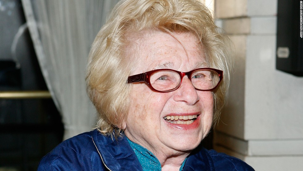 "Sex therapist <a href=""http://www.drruth.com/"" target=""_blank"">Ruth Westheimer</a> has made a career of talking openly about sex, educating and advising the world about intimate matters. When she did her doctorate, ""Nobody talked about contraception,"" she told Dr. Drew Pinsky in 2012."