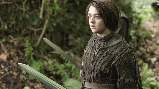 "Actress Maisie Williams plays Arya on HBO's ""Game of Thrones."""