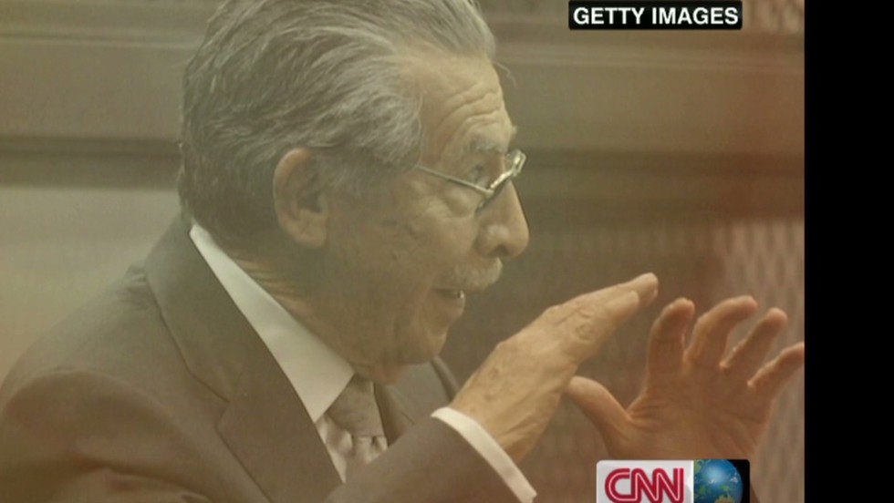 Guatemala's Rios Montt guilty of genocide