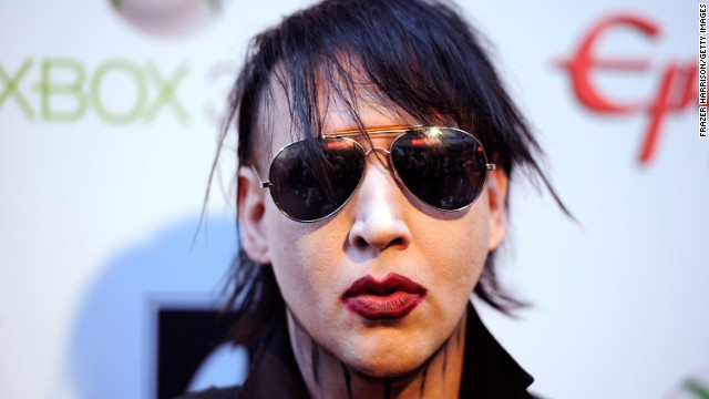 """Marilyn Manson gets a lot of chicks. They're weird chicks. But they're chicks."""