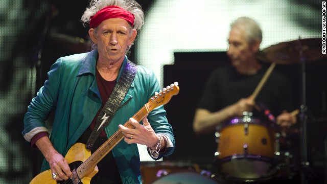 Keith Richards: Rock star sexy. Now picture him as an accountant. Still interested?