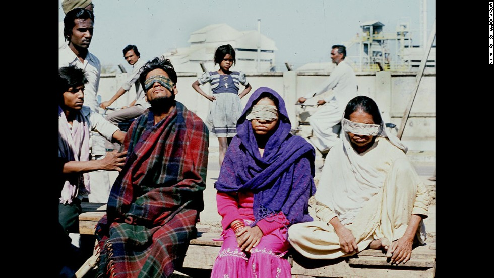<strong>Bhopal chemical leak: </strong>In December 1984, almost 4,000 people died in the immediate aftermath of the leak of methyl isocyanate from a chemical plant in Bhopal, India. More than 10,000 other deaths have been blamed on related illnesses, with adverse health effects reported in hundreds of thousands of survivors. Found guilty in 2010 of negligence over the disaster: Union Carbide India Limited, which was the now-defunct subsidiary of the U.S. chemical company; the subsidiary's head; and six of his colleagues.
