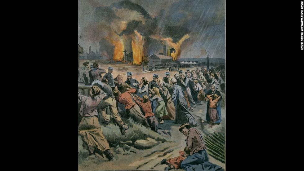 <strong>Courrieres mining disaster: </strong>On March 10, 1906, 1,099 people died and hundreds more were injured in an explosion at the Courrieres mine in northern France, according to the Encyclopaedia Britannica. The encyclopedia said smoke and toxic gas had been detected at the site days before the explosion but work had continued.