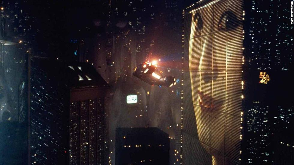 "1982's ""Blade Runner,"" directed by Ridley Scott, features a rain-shrouded and very crowded Los Angeles in the year 2019. We may not have its flying cars, but the building-sized ads are mainstays in some large cities."