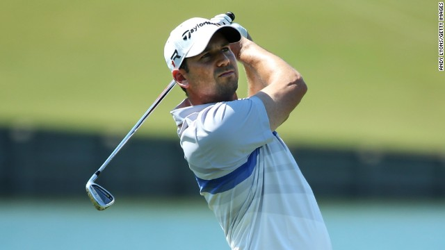 Sergio Garcia shot a seven-under 65 to charge to the top of the leaderboard at the Players Championship.