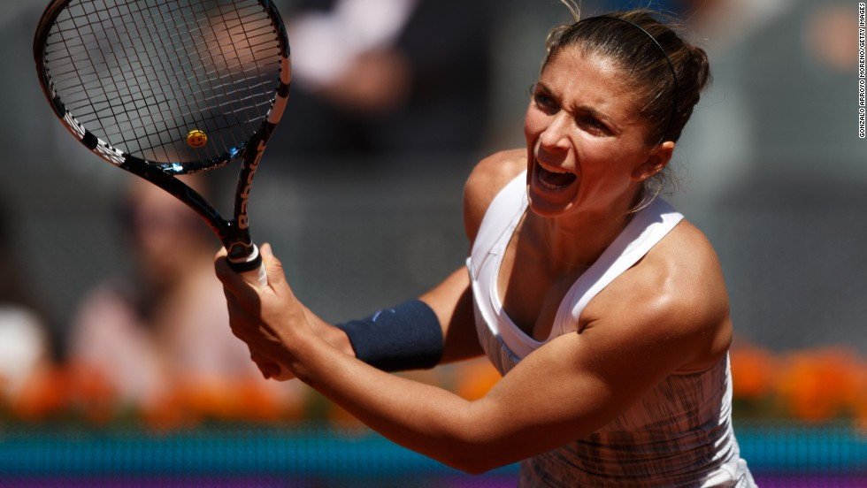 The American became the first women's player to reach 30 wins this season as she defeated Italian seventh seed Sara Errani 7-5 6-2 to set up a chance of her 50th career title.