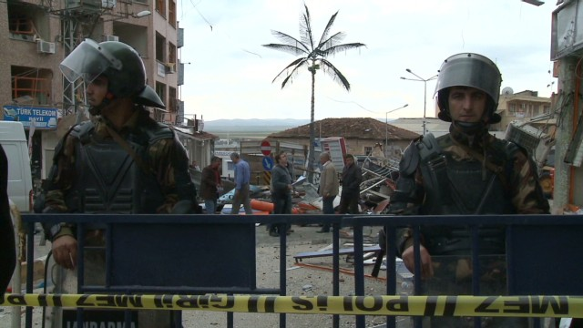 Syria-Turkey border tensions flare