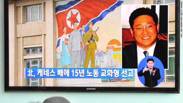 American sentenced in North Korea