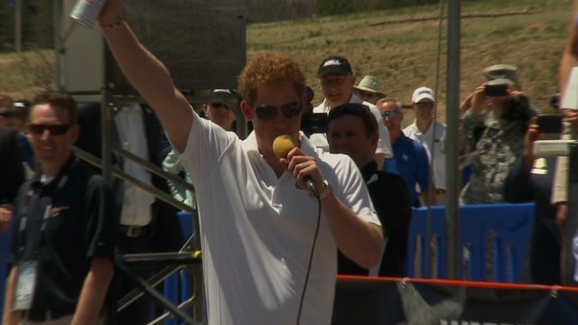 Prince Harry pops up at Warrior Games