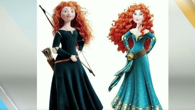Disney sexing up 'Brave' heroine?