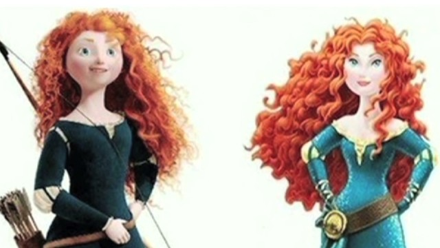"Why did 'Brave"" heroine get a makeover?"