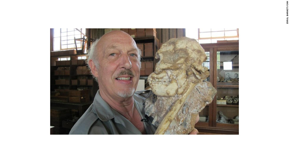 "Professor Ron Clarke and his team at Wits University, South Africa, excavated ""Little Foot"" -- an ""australopithecus"" or kind of an ape-man that changed our understanding of pre-human evolution."