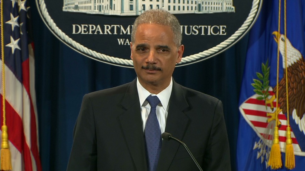 Holder cites recusal in saying little about AP probe