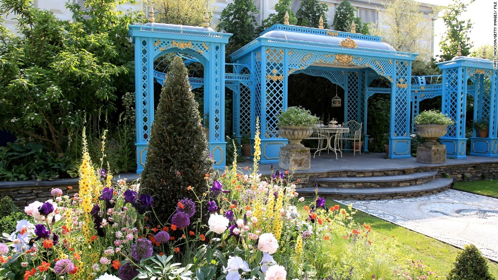 The Victorian Aviary Garden at the 2010 Chelsea Flower Show